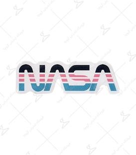 استیکر ژله ای برجسته لیت آرت طرح Nasa