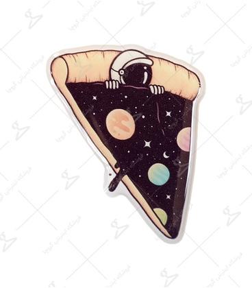 استیکر ژله ای برجسته لیت آرت طرح پیتزا طعم فضانورد