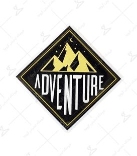 استیکر ژله ای برجسته لیت آرت طرح Adventure