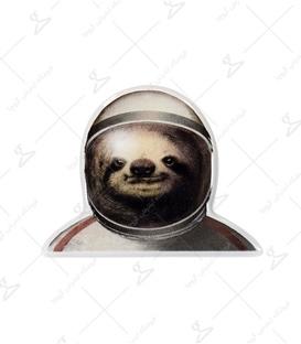 استیکر ژله ای برجسته Lit Art لیت آرت طرح تنبل فضانورد