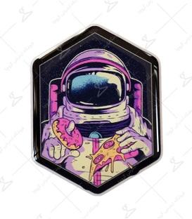 استیکر ژله ای برجسته Lit Art لیت آرت طرح فضانورد شکمو