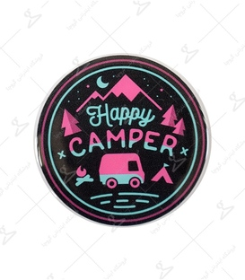 استیکر ژله ای برجسته Lit Art لیت آرت طرح Happy Camper