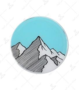 استیکر ژله ای برجسته Lit Art لیت آرت طرح کوهستان آبی