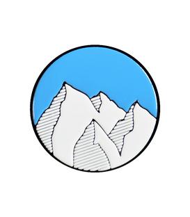 پین فلزی Hiuman هیومن طرح کوه