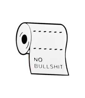 پین فلزی Hiuman هیومن طرح دستمال توالت