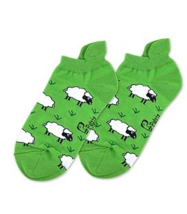 جوراب مچی نانو پاتریس طرح گوسفند سبز