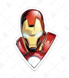 استیکر LooLoo طرح Iron Man