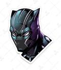 استیکر LooLoo طرح Black Panther