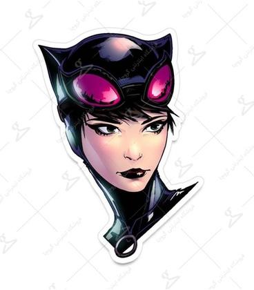 استیکر LooLoo طرح Cat Woman