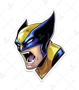 استیکر LooLoo طرح Wolverine