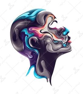 استیکر LooLoo طرح Color Girl