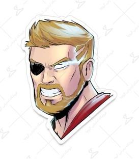 استیکر LooLoo طرح Thor
