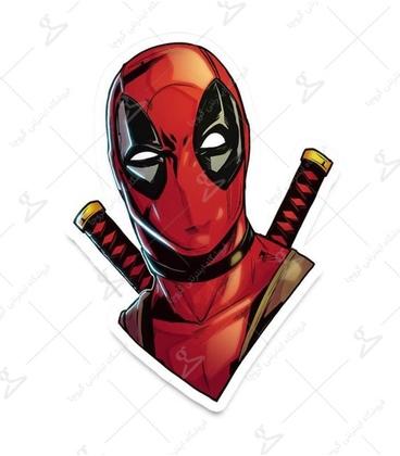 استیکر LooLoo طرح Deadpool