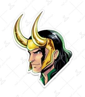 استیکر LooLoo طرح Loki