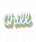 استیکر LooLoo طرح Chill