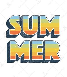 استیکر LooLoo طرح Summer