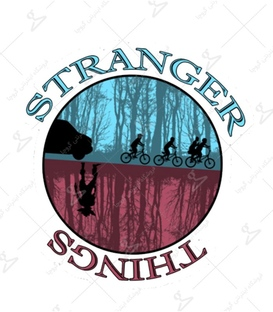 استیکر LooLoo طرح Stranger Things
