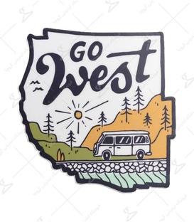 استیکر LooLoo طرح Go West