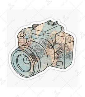 استیکر LooLoo طرح دوربین