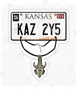 استیکر LooLoo طرح Kansas