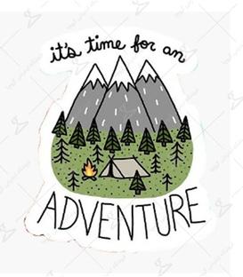 استیکر LooLoo طرح Adventure