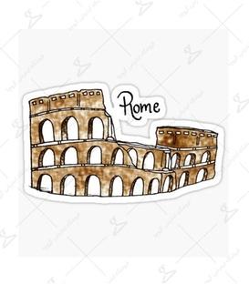 استیکر LooLoo طرح Rome