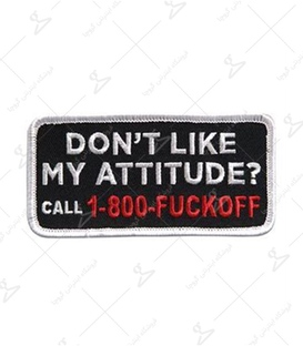 استیکر LooLoo طرح Don't Like My Attitude