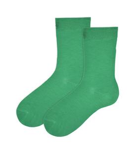 جوراب نانو ساق دار پاآرا سبز روشن