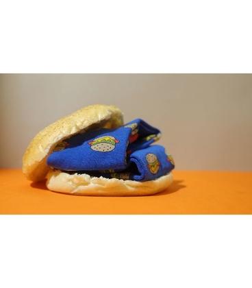 جوراب داینو ساکس طرح همبرگر