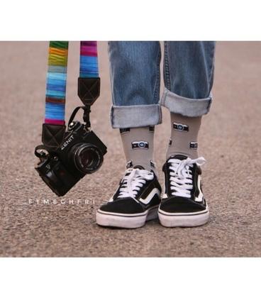 جوراب داینو ساکس طرح دوربین