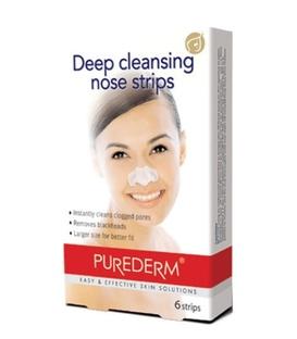 چسب بینی Purederm پیوردرم پاک کننده قوی منافذ - 6 عدد