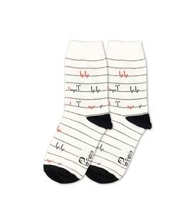 جوراب بچگانه ساق دار نانو پاتریس طرح آب بابا سفید