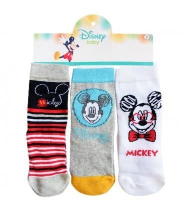 جوراب بچگانه نیم ساق Çimpa چیمپا طرح میکی موس - سه جفت