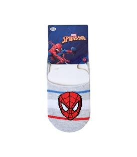 جوراب بچگانه کالج Çimpa چیمپا طرح اسپایدرمن خاکستری