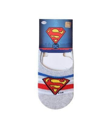 جوراب بچگانه کالج Çimpa چیمپا طرح سوپرمن خاکستری
