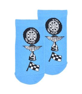 جوراب بچگانه مچی Çimpa چیمپا طرح Cars آبی