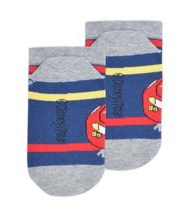 جوراب بچگانه مچی Çimpa چیمپا طرح مک کوئین سرمهای خاکستری