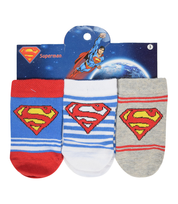 جوراب بچگانه مچی Çimpa چیمپا طرح سوپرمن - سه جفت