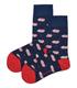 جوراب ساقدار داینو ساکس طرح گربه سرمهای