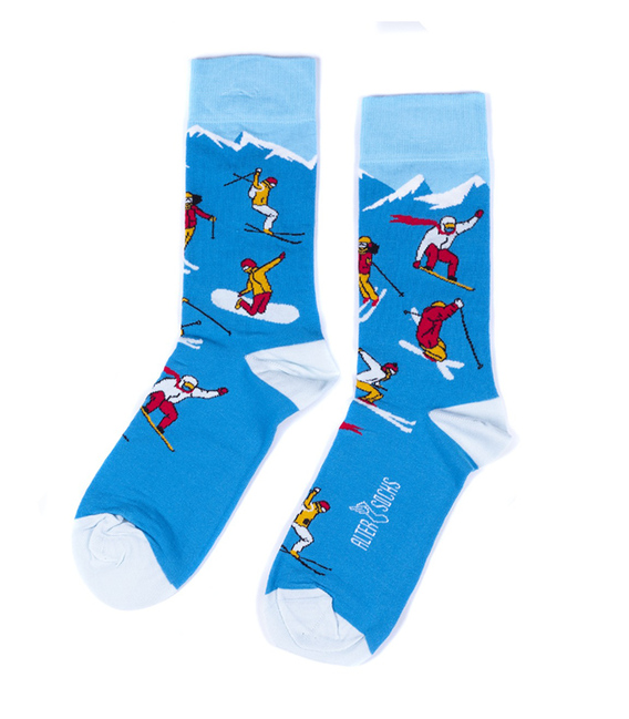 جوراب Alter Socks طرح اسکی