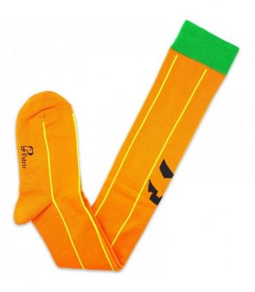 جوراب بالای زانو نانو پاتریس طرح کدو تنبل