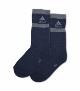 جوراب بچگانه حوله ای ساقدار پاآرا طرح ورزشی سرمهای