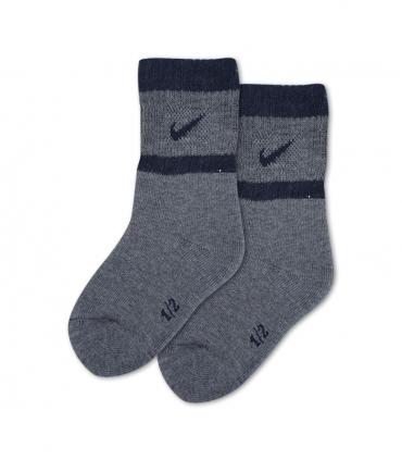 جوراب بچگانه حوله ای ساقدار پاآرا طرح ورزشی خاکستری