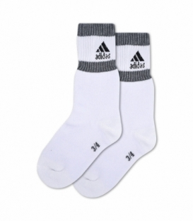 جوراب بچگانه حوله ای ساقدار پاآرا طرح ورزشی سفید