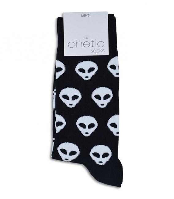 جوراب ساقدار Chetic طرح الین مشکی