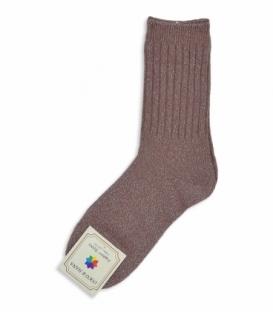 جوراب پشمی Coco & Hana ساقدار طرح لمه مسی