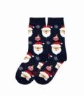 جوراب بچگانه ساقدار نانو پاتریس طرح بابانوئل سرمهای