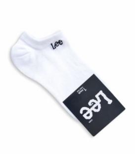 جوراب قوزکی طرح Lee سفید