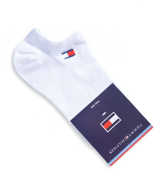 جوراب قوزکی طرح Tommy سفید