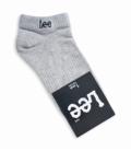 جوراب مچی طرح Lee خاکستری